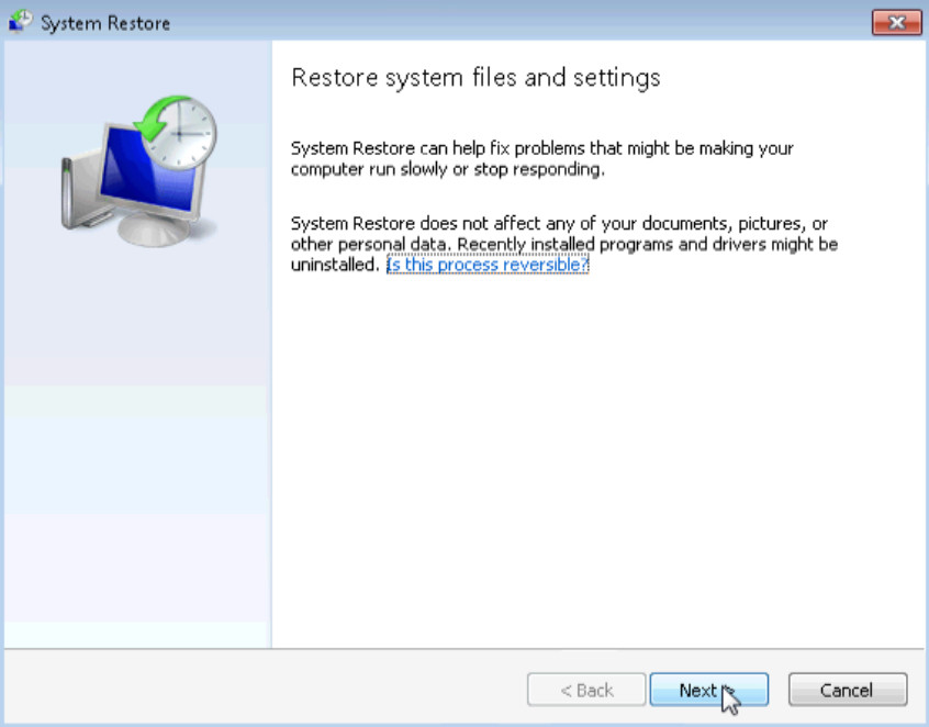 6.3.1.7 Lab - System Restore in Windows 7 and Vista (Answers) 21