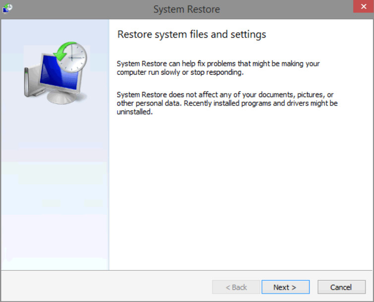 6.3.1.7 Lab - System Restore in Windows 8 (Answers) 24