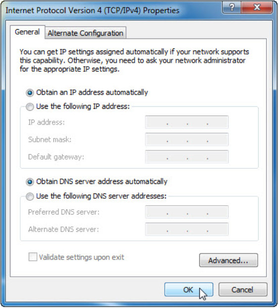 7.4.1.11 Lab - Configure a NIC to Use DHCP in Windows (Answers) 10