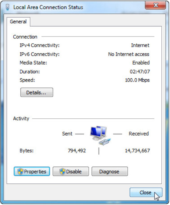 7.4.1.11 Lab - Configure a NIC to Use DHCP in Windows (Answers) 12