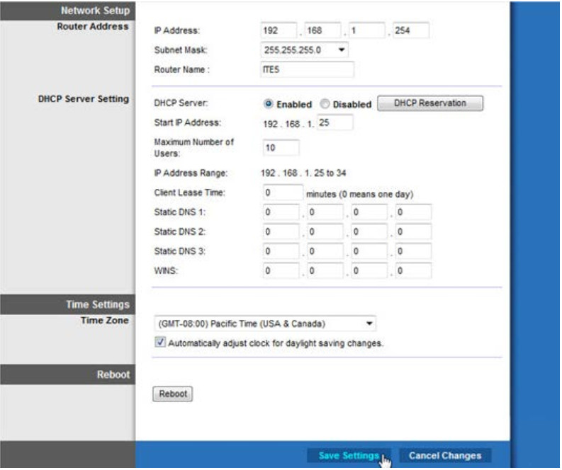 8.1.2.12 Lab - Configure Wireless Router in Windows (Answers) 25