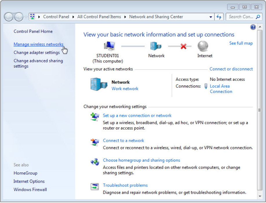 8.1.2.12 Lab - Configure Wireless Router in Windows (Answers) 38
