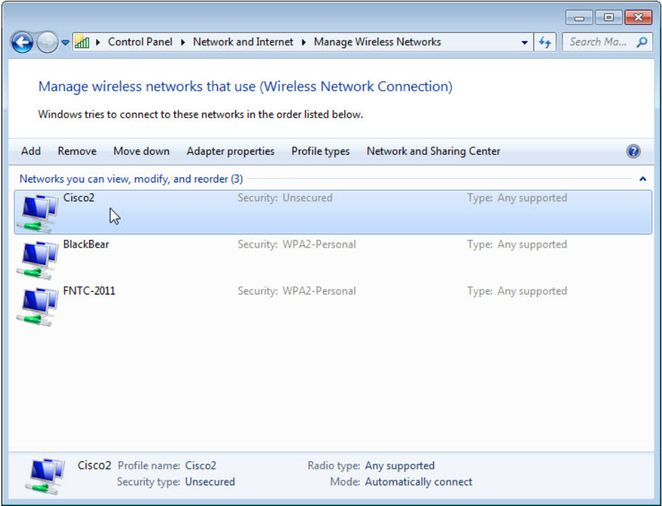 8.1.2.12 Lab - Configure Wireless Router in Windows (Answers) 39