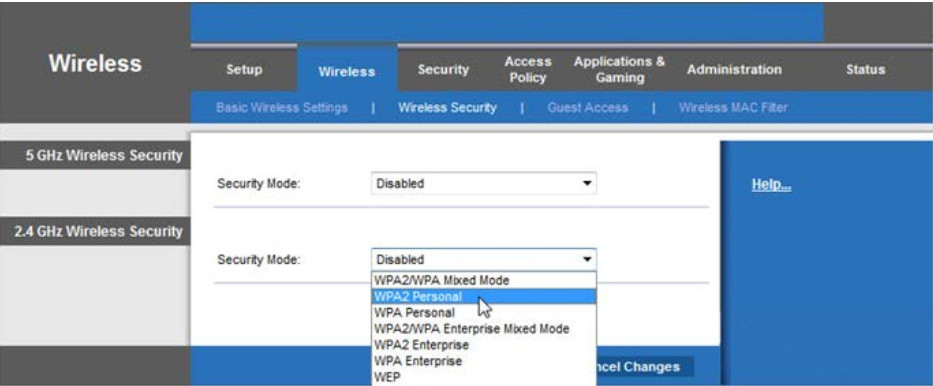 8.1.2.12 Lab - Configure Wireless Router in Windows (Answers) 42