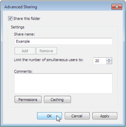 8.1.3.9 Lab - Share Resources in Windows (Answers) 58