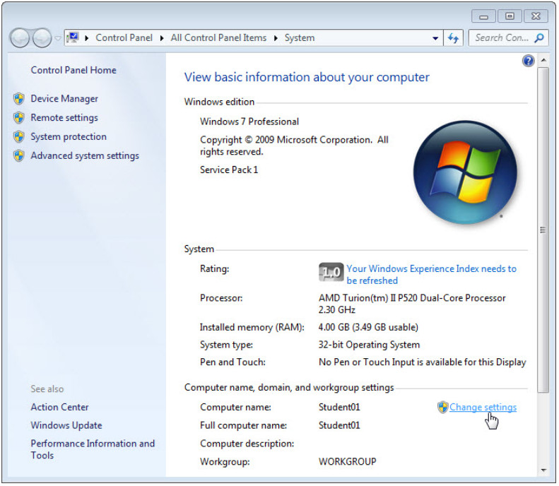 8.1.3.9 Lab - Share Resources in Windows (Answers) 80