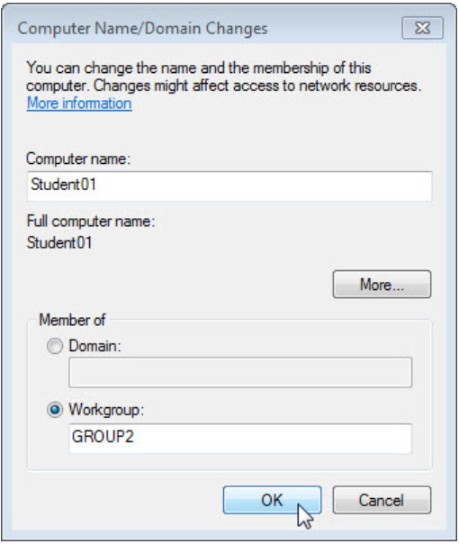 8.1.3.9 Lab - Share Resources in Windows (Answers) 82