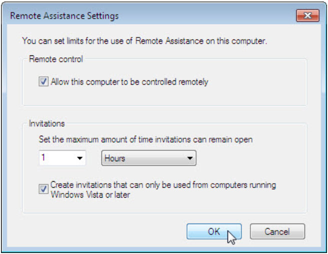 8.1.4.3 Lab - Remote Assistance in Windows (Answers) 32