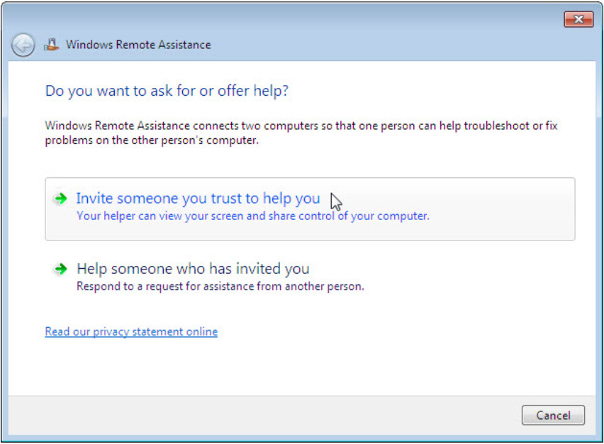 8.1.4.3 Lab - Remote Assistance in Windows (Answers) 34