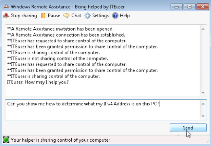 8.1.4.3 Lab - Remote Assistance in Windows (Answers) 49