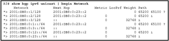 CCNP ENARSI v8 Final Exam Answers Full - Advanced Routing 29