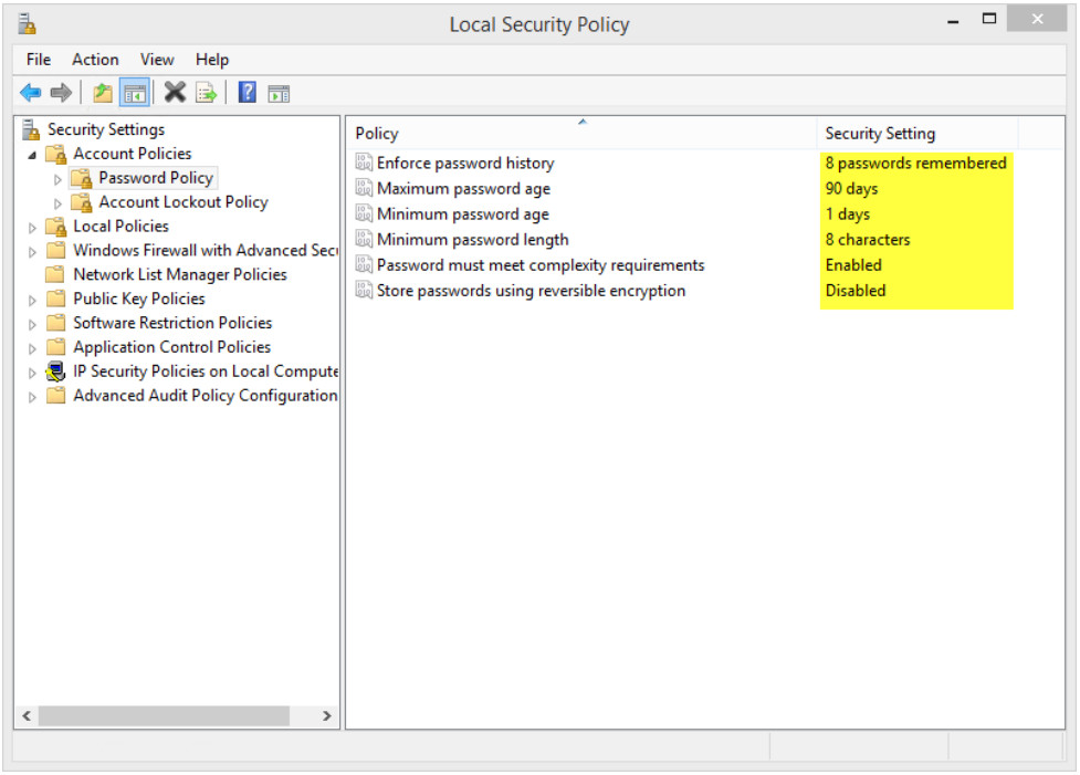 12.2.1.8 Lab - Configure Windows Local Security Policy (Answers) 15