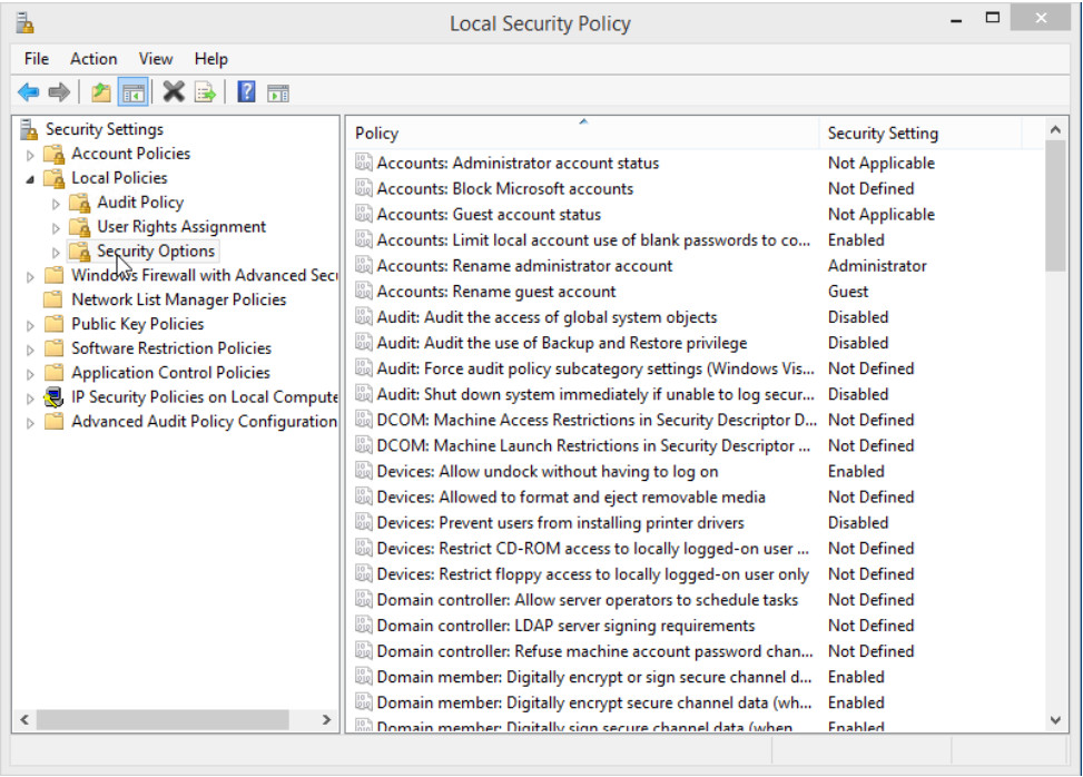 12.2.1.8 Lab - Configure Windows Local Security Policy (Answers) 20