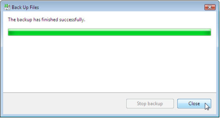 12.3.1.3 Lab - Configure Data Backup and Recovery in Windows 7 and Vista (Answers) 65