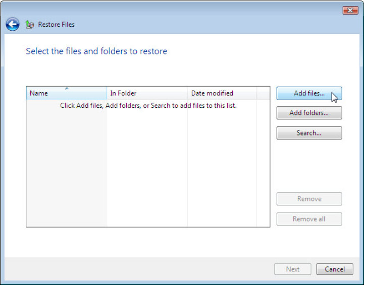 12.3.1.3 Lab - Configure Data Backup and Recovery in Windows 7 and Vista (Answers) 69