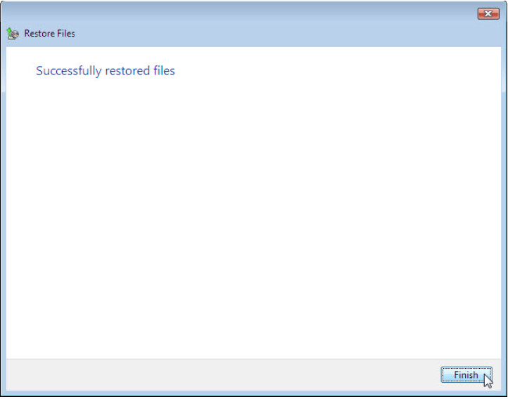 12.3.1.3 Lab - Configure Data Backup and Recovery in Windows 7 and Vista (Answers) 73