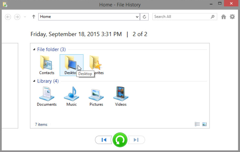 12.3.1.3 Lab - Configure Data Backup and Recovery in Windows 8 (Answers) 24