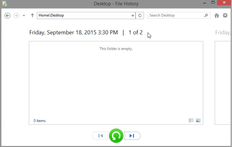 12.3.1.3 Lab - Configure Data Backup and Recovery in Windows 8 (Answers) 26