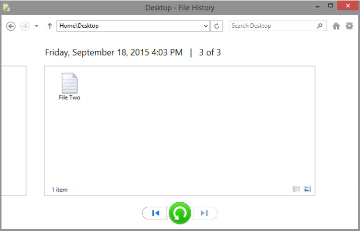 12.3.1.3 Lab - Configure Data Backup and Recovery in Windows 8 (Answers) 28