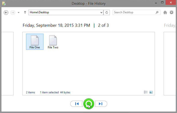 12.3.1.3 Lab - Configure Data Backup and Recovery in Windows 8 (Answers) 30