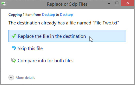 12.3.1.3 Lab - Configure Data Backup and Recovery in Windows 8 (Answers) 33