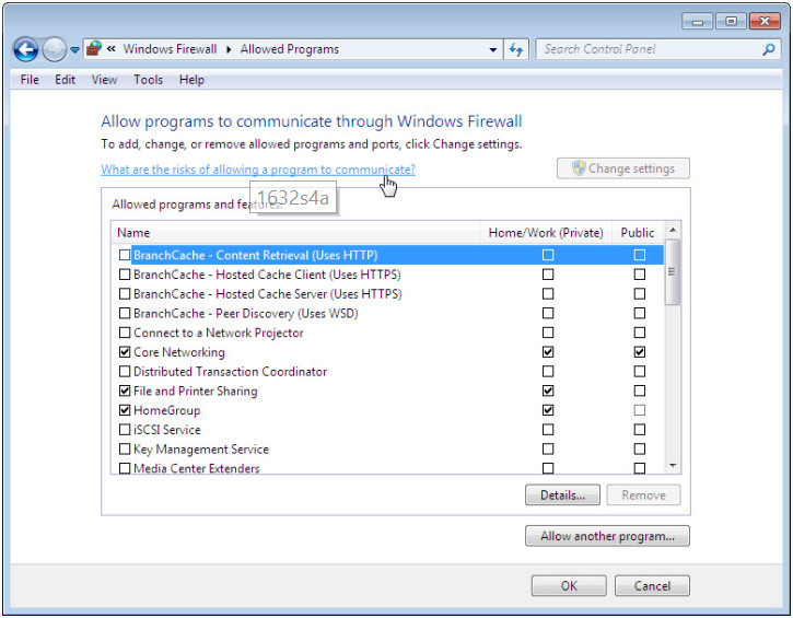 12.3.1.5 Lab - Configure the Firewall in Windows 7 and Vista (Answers) 39