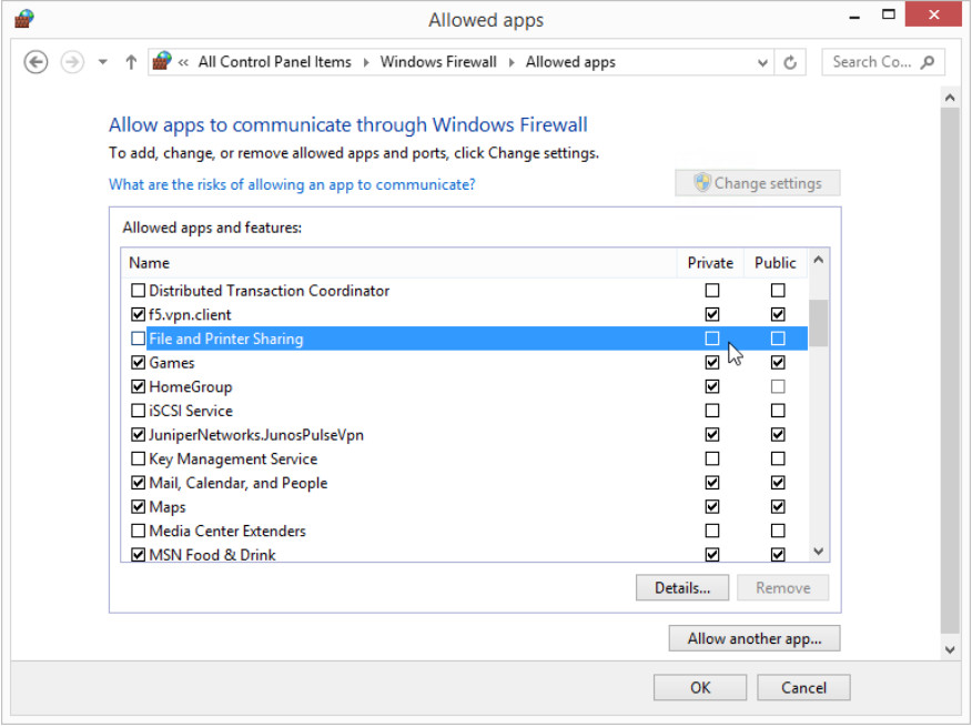 12.3.1.5 Lab - Configure the Firewall in Windows 8 (Answers) 20