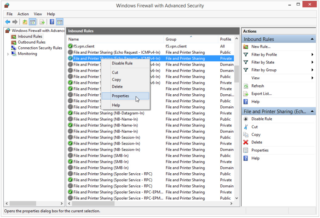 12.3.1.5 Lab - Configure the Firewall in Windows 8 (Answers) 22