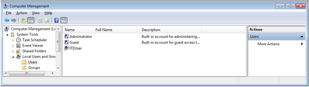 12.3.1.9 Lab - Configure Users and Groups in Windows (Answers) 23