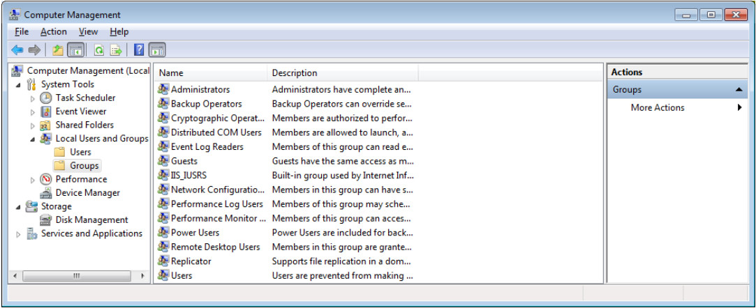 12.3.1.9 Lab - Configure Users and Groups in Windows (Answers) 24