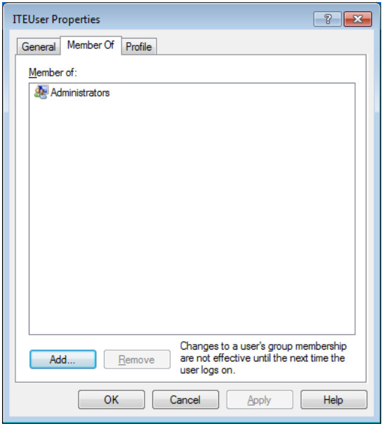 12.3.1.9 Lab - Configure Users and Groups in Windows (Answers) 25