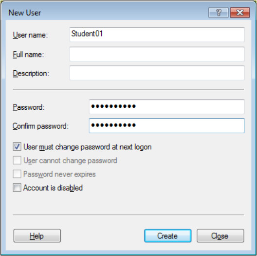 12.3.1.9 Lab - Configure Users and Groups in Windows (Answers) 27