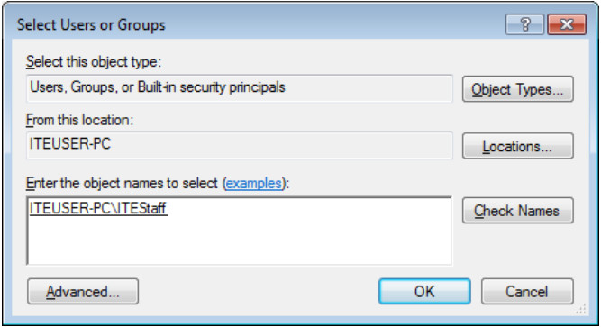 12.3.1.9 Lab - Configure Users and Groups in Windows (Answers) 36