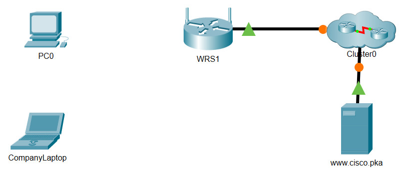 8.1.2.11 Packet Tracer - Connect to a Wireless Router and Configure Basic Settings (Answers) 2