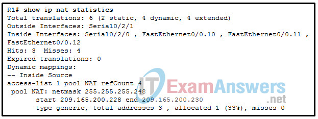 Chapters 15 - 16: IP Services and VPNs Exam (Answers) 8