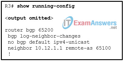 CCNP ENARSI v8 Final Exam Answers Full - Advanced Routing 3