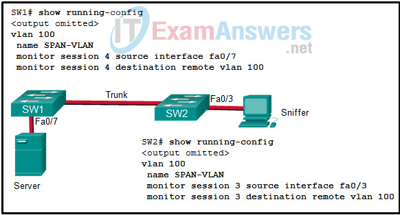 Chapters 22 - 24: Network Design and Monitoring Exam (Answers) 8