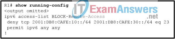 Chapters 21 - 23: Infrastructure Security and Management Exam Answers (CCNPv8 ENARSI) 1