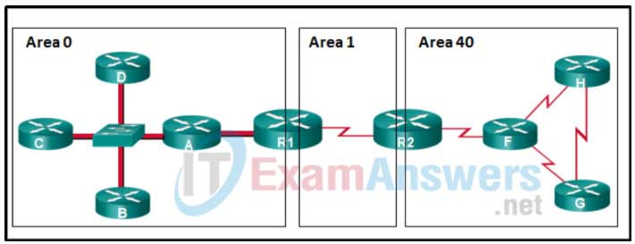 Chapter 8: Quiz - Troubleshooting OSPFv2 (Answers) CCNPv8 ENARSI 8
