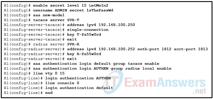 CCNP ENARSI v8 Final Exam Answers Full - Advanced Routing 22