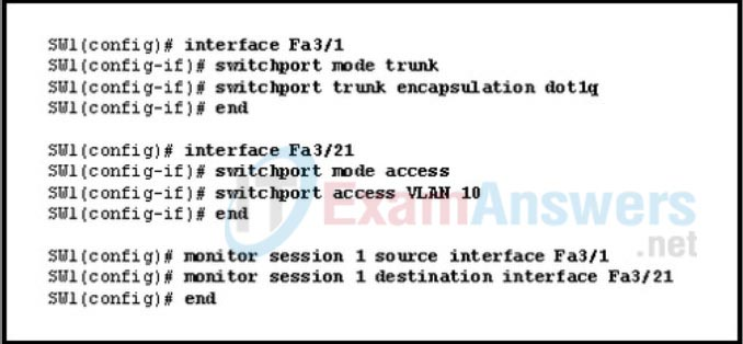 CCNP SWITCH Chapter 8 Exam Answers (Version 7) – Score 100% 3