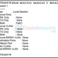 CCNP SWITCH Chapter 8 Exam Answers (Version 7) – Score 100% 5