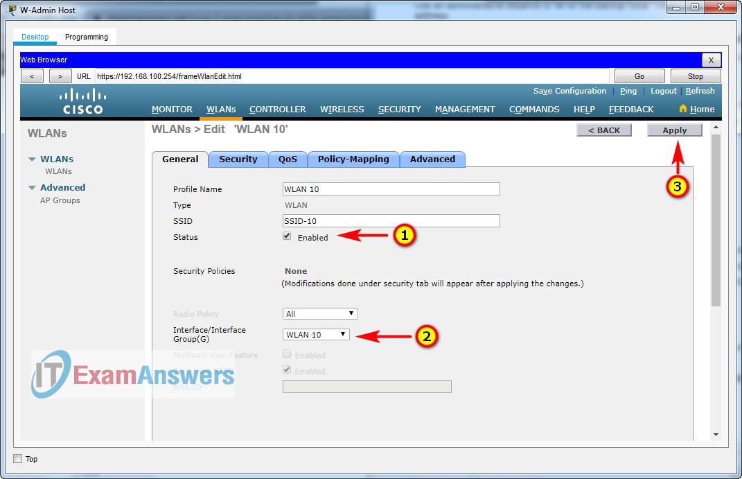 CCNA 2: SRWE Practice PT Skills Assessment (PTSA) - Part 2 Answers 44